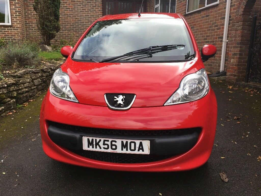 Peugeot 107 1.0 URBAN 3DR (red)