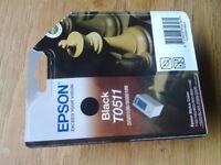 UNOPENED GENUINE EPSON BLACK INK CARTRIDGE - T0511