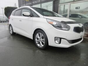 2015 Kia Rondo EX W/ ALLOYS, LEATHER, HEATED & COOLED SEATS