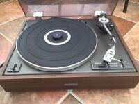 Pioneer 12D vintage record player with instructions