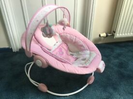 Mothercare pink harmony bouncer