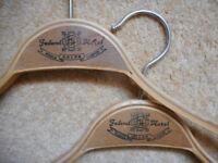Two Vintage Wooden Hangers - Federal Hotel Kuala Lumpur