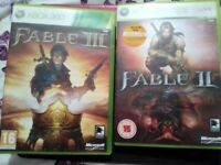 Fable 2&3 Xbox 360
