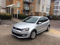 2013 (63 plate) VOLKSWAGEN POLO MATCH SILVER 5,100 MILES CAT D EXCELLENT CONDITION INSIDE AND OUT