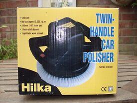 Hilka Twin Handled Electric Polisher