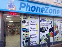 PHONE ZONE (phone, tablet, i pad, laptop and computer's)