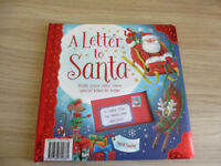 A Letter To Santa Book As New