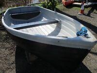 9ft9 grp clinker dinghy