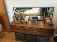 Dressing Table with solid wood draws and mirror