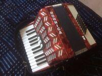 Hohnica 48 Bass Piano Accordion