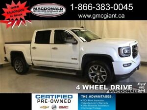 2016 GMC Sierra 1500 SLT All Terrain Crew, 5.3L V8, 4X4 REDUCED!