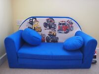 Children Kids Babies mini couch sofa bed pouffe pillow 3in1 Set