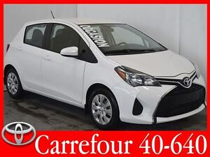 2015 Toyota Yaris HB LE 5 Portes Gr.Electrique+Bluetooth+Air Aut