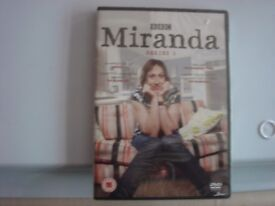 BBC COMEDY MIRANDA FIRST SERIES (NEW AND SEALED)