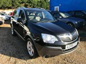 2008 Vauxhall Antara 2.0 cdti diesel manual 71.000 miles /1 years FREE WARRANT included £3995