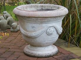 Stone Planters (Large) matching pair