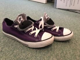 Converse trainers for sale.