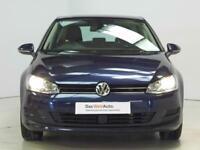 Volkswagen Golf SE TSI BLUEMOTION TECHNOLOGY (blue) 2014-09-25