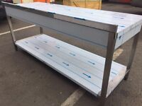 Stainless Steel Table/Catering Equipment/W:2000mmXD:700mXH:850mm