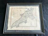 Vintage and frames map picture