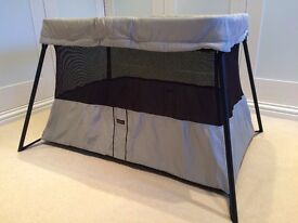 Baby Bjorn Travel Cot and Baby Carrier