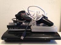 SONY PS3 500GB SUPER SLIM BLACK MINT CONDITION