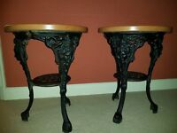 Pair of identical Tables