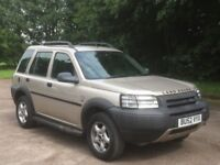 2002 LANDROVER FREELANDER ++ V6 AUTOMATIC ++ PERFECT FOR TOWING ++ 5 DOOR ++ HPI CLEAR + LOW MILEAGE