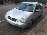 VW POLO 1,4S AUTOMATIC 2003 SILVER BLACK LEATHER SEATS
