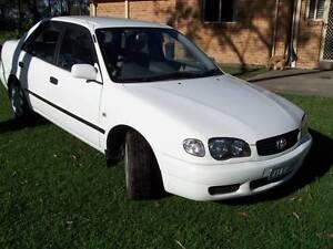2000 Toyota Corolla Sedan CHEAP AUTOMATIC CAR DEC REGO Seaham Port Stephens Area Preview