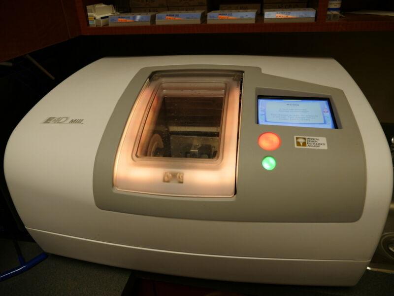 D4D E4D Dental Intraoral Acquisition Scanner w/ Mill & Programat CS Oven