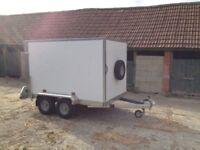 New Tickner GT85 Box Trailer 8x5x5ft