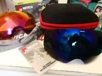 Nevica Magnetic Ski Snowboarding goggles Easy change Dark/light