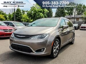 2018 Chrysler Pacifica LIMITED, FULLY LOADED, 8 PASSENGER, DVD,