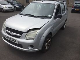 2005 55 SUZUKI IGNIS TRADE INTO CLEAR MOTED 5 MONTHS PX WELCOME £150