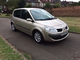 Renault Scenic 1.6 VVT Dynamique Hatchback, AUTOMATIC, 6 MONTHS FREE WARRANTY, FULL SERVICE HISTORY