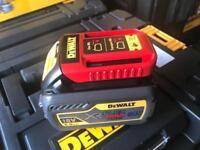 Dewalt flexvolt batteries dcb546 6ah x 2