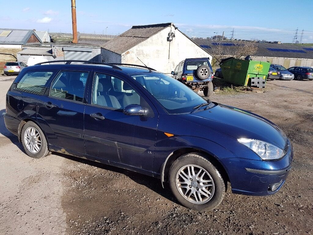 2003 ford focus 1 8 tdci lx 5 door estate blue 11 months m o t