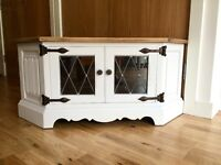 Upcycled Corner TV Unit Cabinet