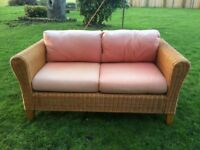 **Free** Wicker Sofa with Seat Cushions