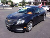 2014 Chevrolet Cruze ONE OWNER THIS IS NOT A RENTAL 1LT TURBO RE