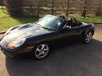 PORSCHE BOXSTER 2.7 AUTO 2001 CONVERTIBLE. FULL LEATHER FULL SERVICE HISTORY AND DRIVES PERFECT