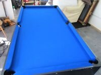6ft x3ft Pool table ONLY