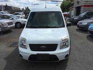 2010 Ford Transit Connect XLT with Side and Rear Door Glass Low