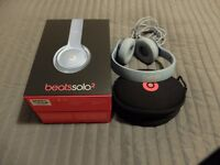 Beats Solo 2 Wired with protective case - barely used. Pick-up or delivery in Bristol. £70 ONO
