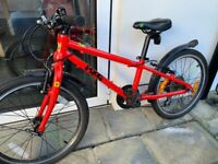 Frog 52 children bike RED 20 inch wheels + 2 additional tyres with inner tubes