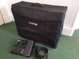 Line 6 Spider IV 150w 2x12 and pedals