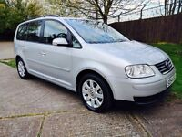 Volkswagen Touran 2.0 TDI SE DSG AUTO 5dr+7Seater+1Year MOT+3MNTH WARNTY P.x Welcome