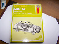 HAYNES MANUAL FOR NISSAN MICRA