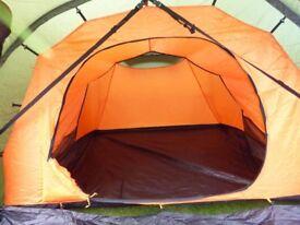 Vango Omega 350. 3 man tent for sale.